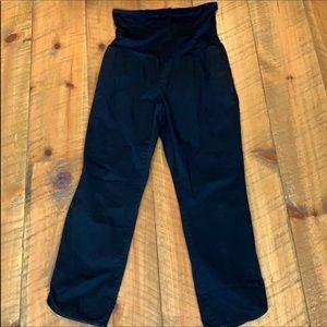 Gap black maternity pants Size 8